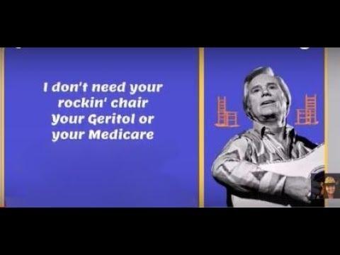 George Jones ~ I Don't Need Your Rockin' Chair ~ Lyrics