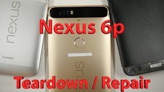 Nexus 6p False Advertising - Teardown - Repair Video