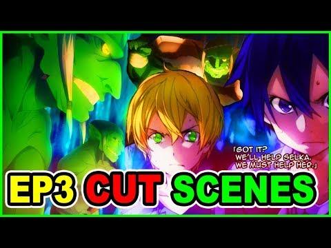 KIRITO VS GOBLIN CUT CONTENT   SAO Alicization Episode 3    SAO Season 3 Anime vs Novel