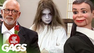 Terrifying Ghosts, Harpoon Accidents, \u0026 Living Puppets  | JFL Throwback Pranks