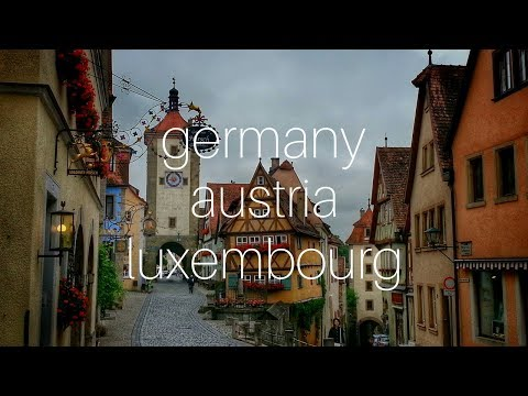 Trip to Germany + Austria + Luxembourg