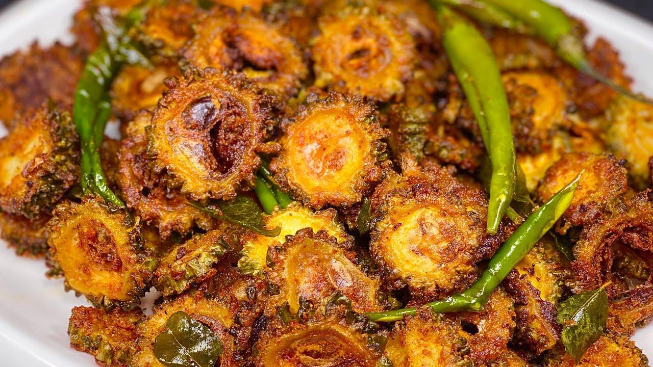 कुरकुरे मसालेदार टेस्टी करेला चिप्स बनाने की रेसिपी|Crispy Karela Chips recipe |Bittergourd chips