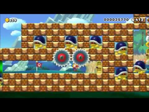The Buzzy Garden!: Clearing Super Mario Maker's REQUESTED Levels!