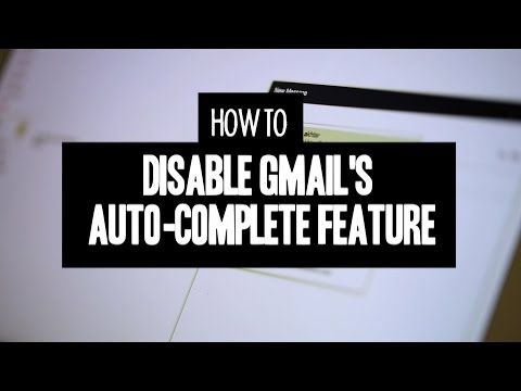 CNET How To - Disable Gmail's auto-complete feature in three easy steps