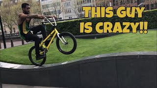 BMX FREESTYLE THROUGH LONDON CITY!!