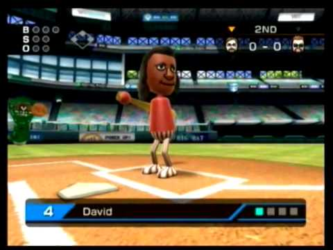 how to play singles tennis on wii sports