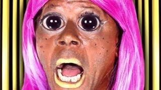 "Nicki Minaj - ""Stupid Hoe"" Parody - Tranny Minaj - ""I"