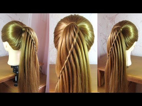 10 Easy Waterfall Braids You Can Do At Home The Trend Spotter