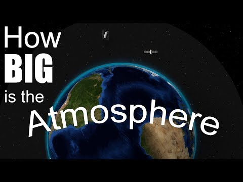 How Big is the Atmosphere?