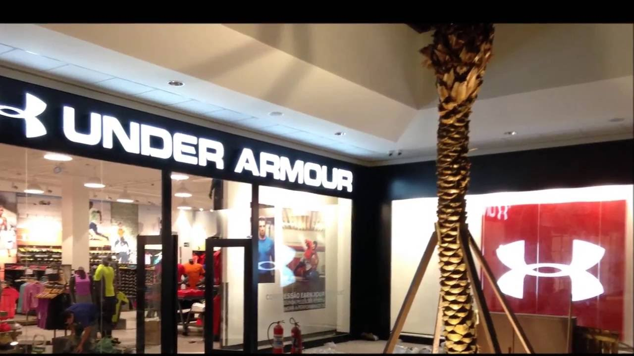 TIME LAPSE UNDER ARMOUR CATARINA OUTLET