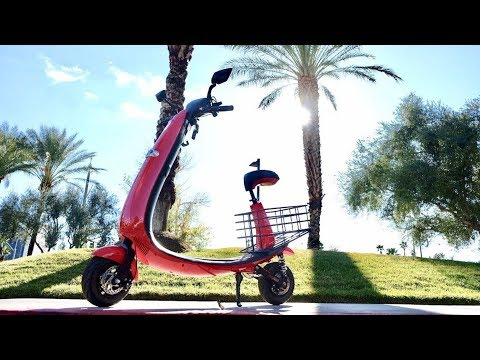 The Ford Ojo Electric scooter is a total joy ride