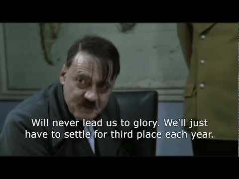 Hitler reacts to RVP joining Manchester United