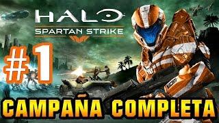 Halo Spartan Strike Campaña Completa En Español PARTE 1