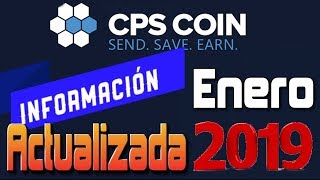 🔥 CPS Coin Coinpayments Información Actualizada Enero 2019 [ Tengo Dinero ]