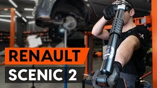 Peržiūrėkite vaizdo įrašo vadovą, kaip pakeisti RENAULT SCÉNIC II (JM0/1_) Amortizatorius