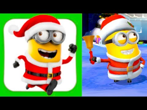 despicable me minion rush christmas edition iphone gameplay - Minion Rush Christmas