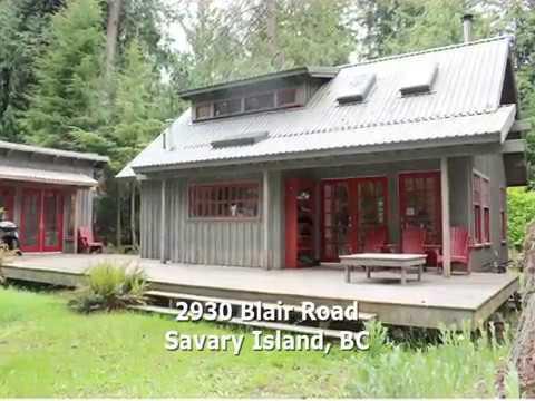SOLD! Beautiful Savary Island Cabin $304,000