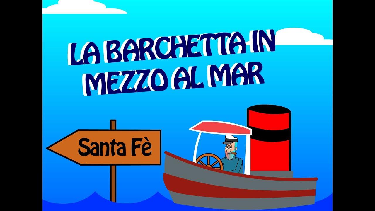 Foto Divertenti Bambini Al Mare la barchetta in mezzo al mare - canzoni per bambini