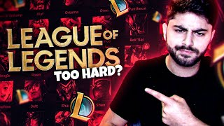 Yassuo | Is League of Legends HARD to get into as a *NEW* PLAYER?!