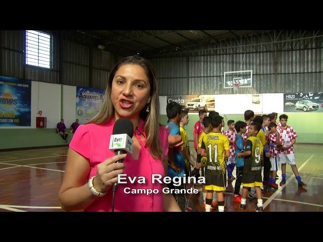 Reportagem Giro do Esporte sobre a final da Copa Pelezinho