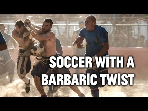 This Barbaric Version of Soccer Is the Original Extreme Spor