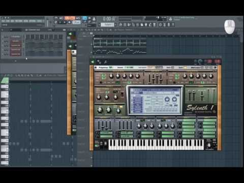 How to make EDM - raw recording of making a loop (full EDM song raw video teaser) +.flp