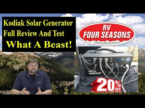 Kodiak Solar Generator Review And Test