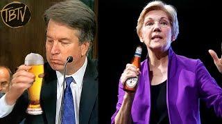 Hey Everybody, Elizabeth Warren Drank A Beer On Instagram