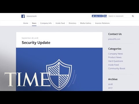 Facebook Says A Security Breach Affected Nearly 50 Million Accounts | TIME