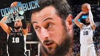 Marco Belinelli All 147 Three-Pointers Full Highlights (2018-19 Season Three-ilation)
