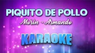 Morin - Armando - Piquito De Pollo (Karaoke version with Lyrics)