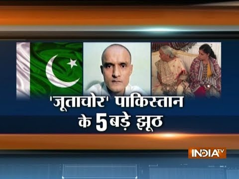 Special Report: 5 big lies of Pakistan in Kulbhushan Jadhav case