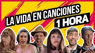 COMPILADO LA VIDA EN CANCIONES 1 HORA | Hecatombe!