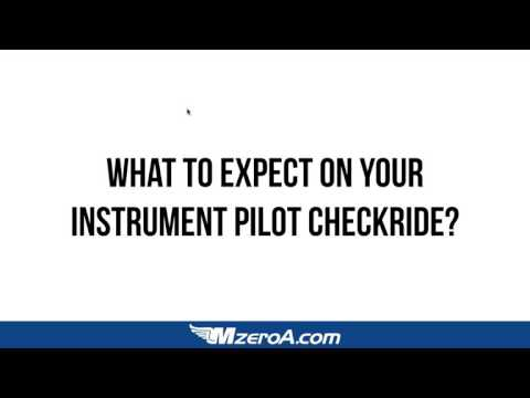 What to Expect on Your Instrument and Commercial Checkride & Mock Checkride
