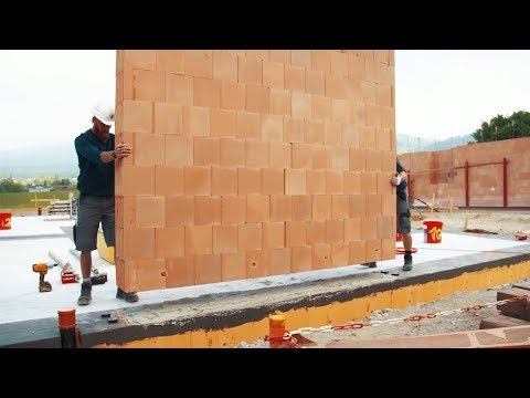 Fastest Ways To Build A House With Amazing Construction Worker At High Level Of Ingenious