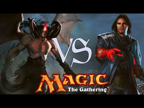 MtG Vintage Gameplay - U/R Delver VS Oath of Druids