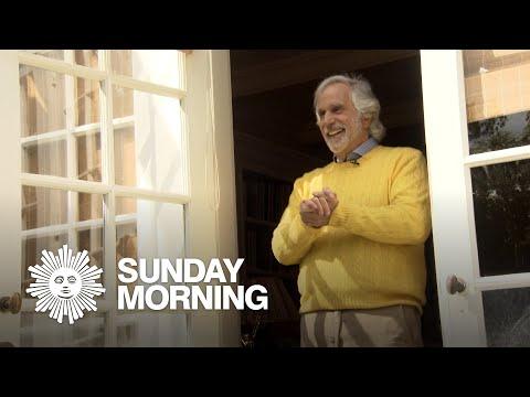 Henry Winkler speaks, at his door