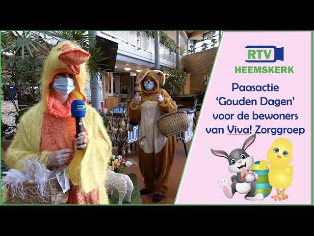 Paasactie Gouden Dagen voor bewoners Viva! Zorggroep