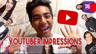 YOUTUBER IMPRESSIONS - Jenna Marbles, Liza Koshy, PewDiePie, Miranda Sings, and MORE!
