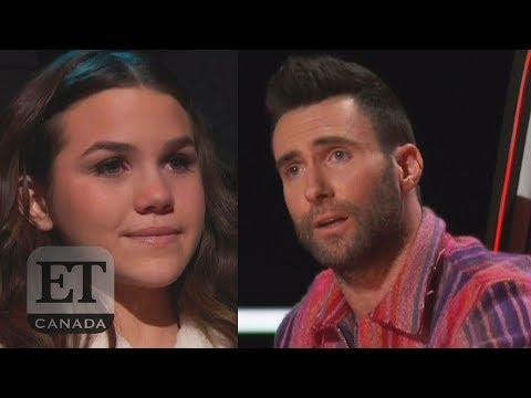 Adam Levine Pleads For Reagan Strange On 'The Voice'