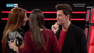 The Voice: Η έκπληξη στην Έλενα Παπαρίζου