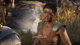 Assassin's Creed Odyssey Thyia Romance (Alexios)