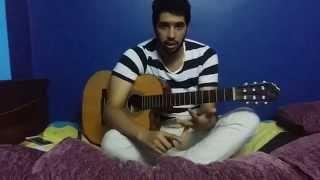 تعليم اغنية ما بلاش محمد حماقى جيتار | Mohamed Hamaki Ma Balash