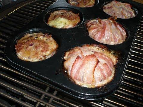 Der Grilljunky 183 Hackfleisch Muffins Mit Mozzarella Füllung Youtube