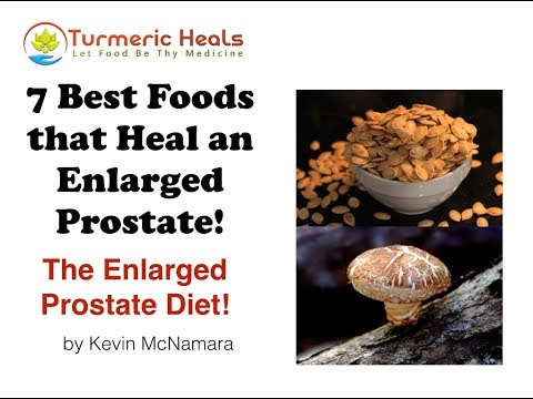 7 Natural Prostate Health Foods For an Enlarged Prostate Diet