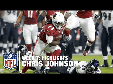 Chris Johnson Highlights (Week 7) | Ravens vs. Cardinals | NFL