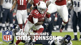 Chris Johnson Highlights (Week 7) | Ravens vs. Cardinals | NFL