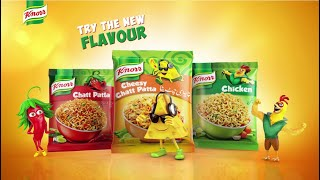 Introducing Knorr Cheesy Chatt Patta Noodles!