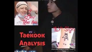 Taekook (Did Jungkook cry because of Taehyung?)