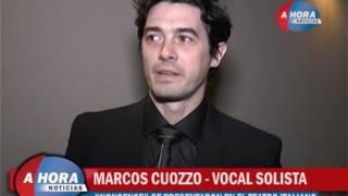 VALERIA MARTINELLI   MARCOS CUOZZO   NONSENSE VOCAL DE SOLISTAS SE PRESENTARON EN EL TEATRO ITALIANO